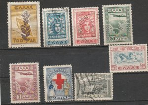 Greece Used & Mint OGH lot #8