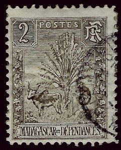 Malagasy/Madagascar Sc#64 F-VF Used SCV$1 ..Buy before prices rise again!