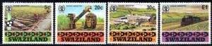 Swaziland - 1982 Sugar Industry Set MNH** SG 408-411