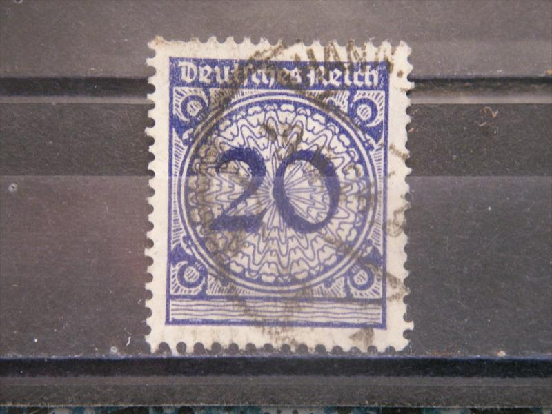 GERMANY, Empire, 1923, used 20pf, Numeral 326