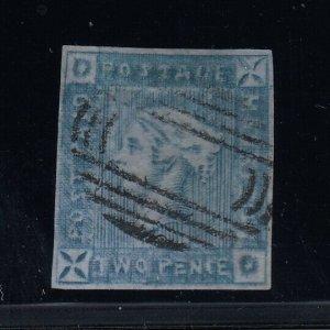 Mauritius, SG 38 (Sc 14Bc), used, Lapirot Issue, Intermediate Impression