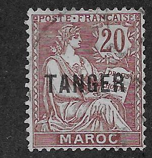 FRENCH MOROCCO SC# 80  F/U    1918