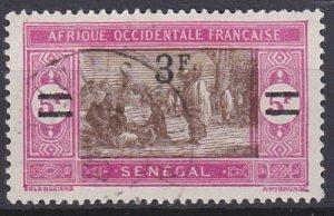 Senegal 135 used (1927)