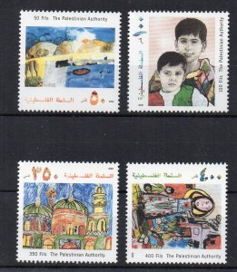 PALESTINE - YEAR OF THE CHILDREN - CHILDREN'S DRAWINGS - 2000 -