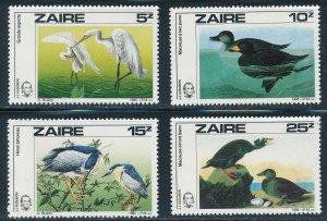 Zaire - MNH Birds Stamps Set Buzin (1985)