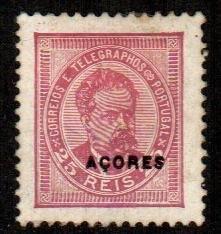 Azores #64  Mint  Scott $175.00   No Gum