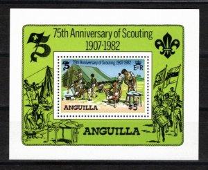 Anguilla 1982 Sc 506 MNH Souvenir Sheet Perforate