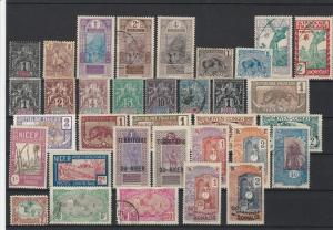French Colonies Mixed Collectable Stamps Ref 27855