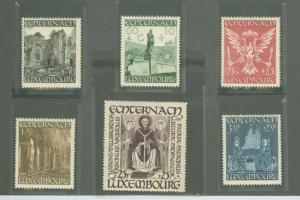 Luxembourg B137-B142 Mint VF H