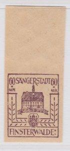 Finsterwalde WWII Germany World War II Local Stamp 1946 60+40pf MNH** A20P4F200