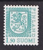 Finland   #633    MNH  1979  Coat of Arms  1.50m