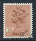 GB Machin 16½p  SG X950  Scott MH95 Used with FDC cancel  please read details