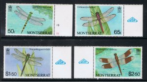 MONTSERRAT 1983 DRAGONFLIES