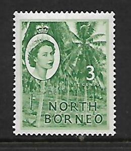 NORTH BORNEO    263 MNH COCONUT GROVE ISSUE
