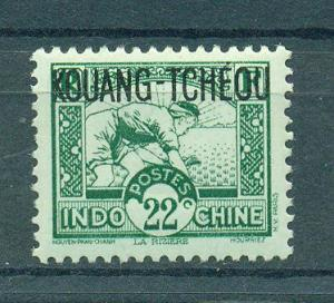 French Offices in China Kwangchowan sc# 123 mnh cat value $.70