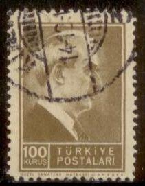 Turkey 1942  SC# 893 Used L189