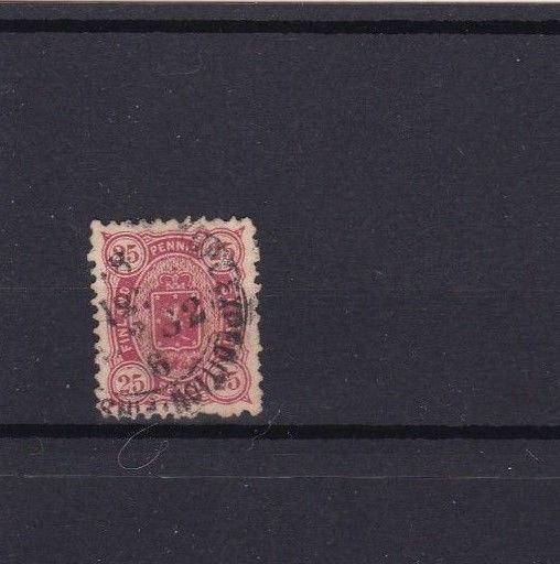 FINLAND 1875 25 PEN RED STAMP  CAT £60    REF 5732