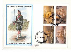 1977 GB Scotland Eynhallow Souvenir Cover PTS AO134