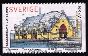 Sweden #2271 Fish Halls; Used (0.60)