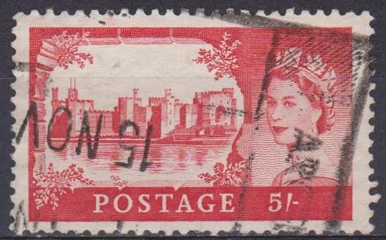 Great Britain #310 F-VF Used CV $3.50 (ST821)