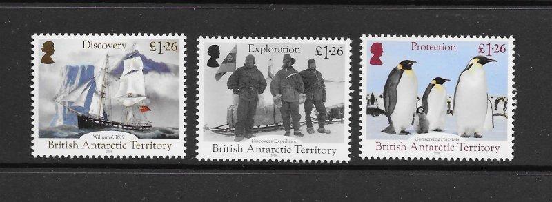 BRITISH ANTARCTIC TERRITORY  DISCOVERY & EXPLORATION    MNH