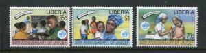 Liberia #1217-9 MNH