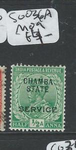 INDIA CHAMBA (PP0804B) KGV  1/2A  SERVICE SGO36A  MOG
