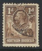 Northern Rhodesia  SG 2 SC# 2 Used  - see details