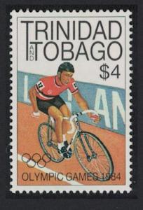 Trinidad and Tobago Cycling Olympic Games Los Angeles 1v $4 Key Value SG#659