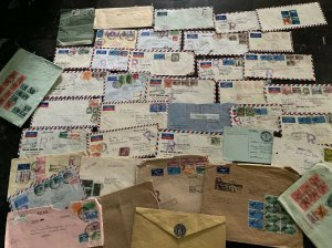 Pakistan Airmails Diplomatic Covers 36 Collection Lot