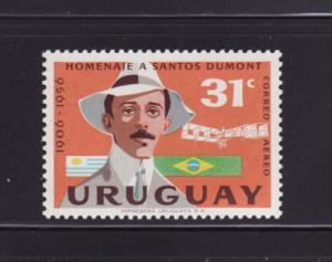 Uruguay C193 MNH Alberto Santos-Dumont, Aviator (C)
