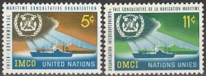 UN #123-4  MNH F-VF (SU6826)