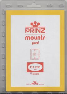 PRINZ BLACK MOUNTS 111X91 (6) RETAIL PRICE $5.50