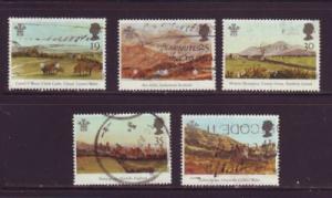 Great Britain  Sc 1548-52 1994 Pr of Wales Paintings stam...