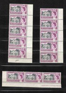 Bermuda 168, 171-172 MNH Multiples
