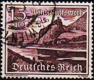 Germany. 1939 15pf+10pf S.G.724. Fine Used