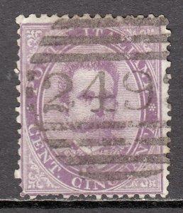 Italy - Scott #50 - Used - Short perfs at bottom  - SCV $27.50