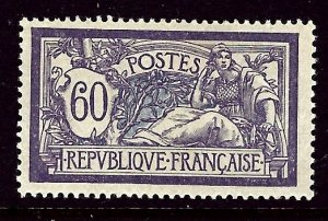 France 124 MH 1920 issue    (ap3362)