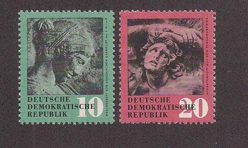 GERMANY - DDR SC# 412-13 VF MNH 1958