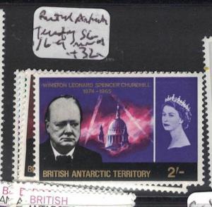 British Antarctic Territory SG 16-19 MNH (2dsq)
