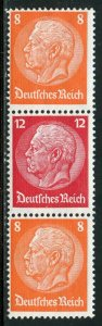 GERMANY SE-TENANT CONFIGURATION MICHEL#S113  MINT LIGHT HINGED