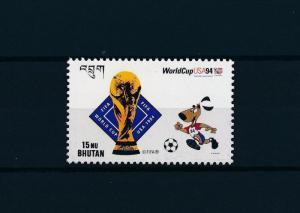 [59590] Bhutan 1994 World Cup Soccer Football USA MNH