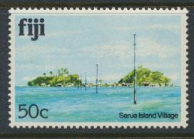 Fiji SG 593A  SC# 422  MNH  Architecture  see scan