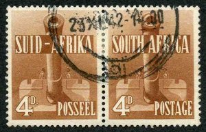 South Africa SG92a 1941 4d red-brown Fine used