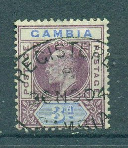 Gambia sc# 32 used cat value $4.00