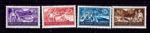 Liechtenstein 132-35 MNH 1937 set