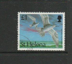 St Helena 1993 Bird Defs £1 FU SG 645