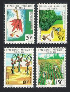 Benin National Products Campaign Year 4v SG#628-631