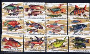 Guinea 570-81 NH 1971 Fish Set
