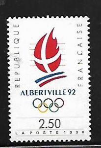 FRANCE, 2206, MNH, 1992 WINTER OLYMPICS